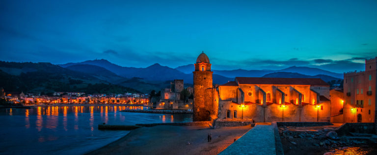 The church Notre-Dame-des-Anges at Collioure