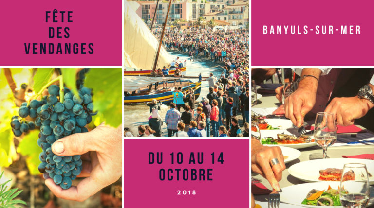 Grape Harvest Celebration in Banyuls-sur-Mer Octobre 2018