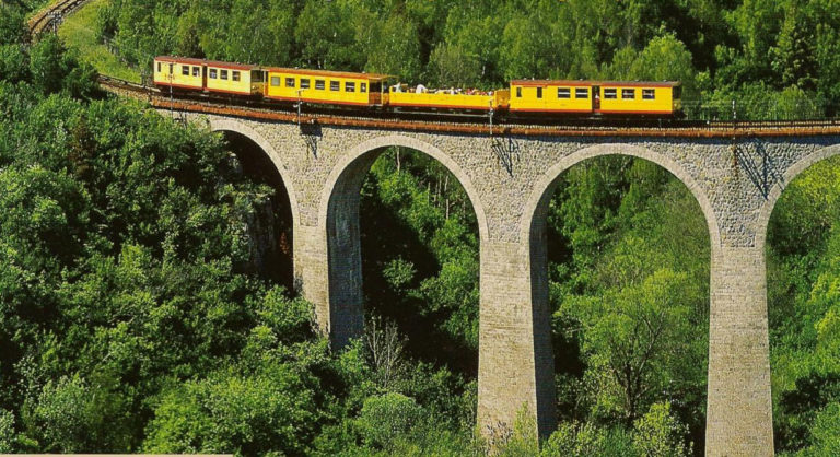 Le train jaune catalan