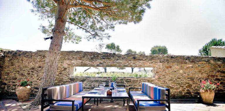 Restaurant Clos de Paulilles near Port-Vendres