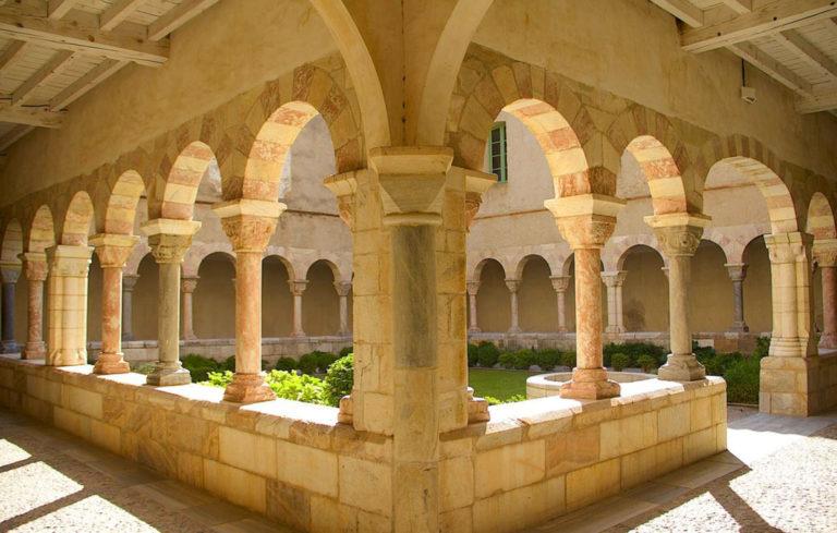 The Abbey at St Génis-des-Fontaines