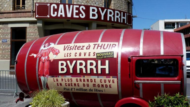 The Caves Byrrh à Thuir