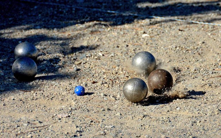 Jeu de boules in Racou