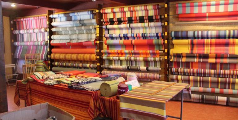 Shop Les Toiles du Soleil (catalan fabrics) - St Laurent de Cerdans